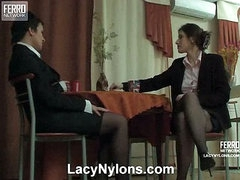 Sheila&Jaclyn nasty nylon movie