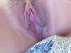Sexy fuckable playgirl has valuable pink dirty cleft lips and a hot clit. She groans as her dirty cleft lips and clitoris get licked and sucked on close up. Makes you hot!