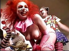 In a very complicated and interesting world sex fetish have many different faces. Here is one and implies red noses and a lot of make up. Those clowns are not your each day circus ones. Oh no, there are the different type that know how to give an awesome show. So keep on being entertained by them as they fuck