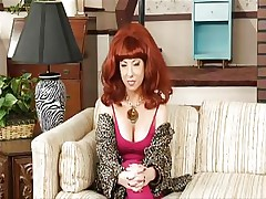 Watch this parody as this sexy golden-haired that is playing Kelly's role is all stripped in her room fingering her tight obscene cleft while this babe is talking to her father. See how much this babe enjoys playing with that sex tool deep inside her tight wet pussy. Do you think this babe could use a real shlong inside of her hairless cunt?