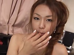 Have enjoyment staring at beautiful Asian chick getting banged hawt