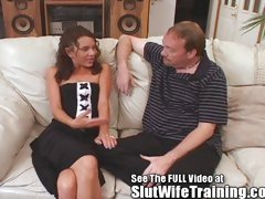 Aleena Gets Bitch Wife Disciplined On Movie For Her Hubby!
