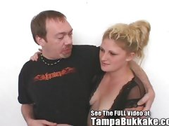 Cum Floozy Deanna's 3 Gap Tampa Bukkake Slumber Party!